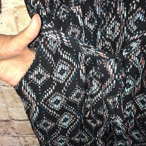 Anthropologie Pants - Anthropologie Elevenses Dacey Black Jumpsuit